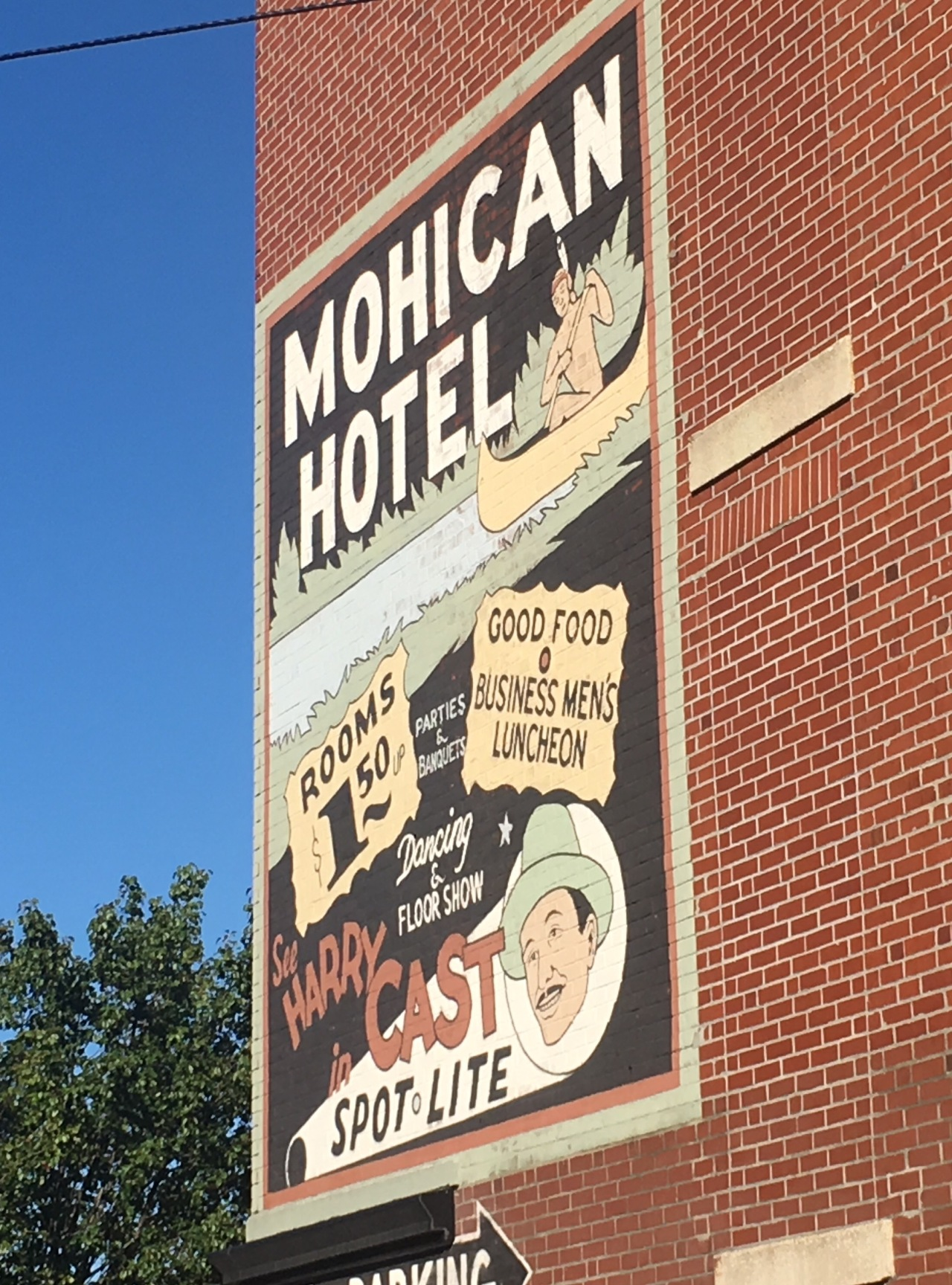 mohican 2019 sign