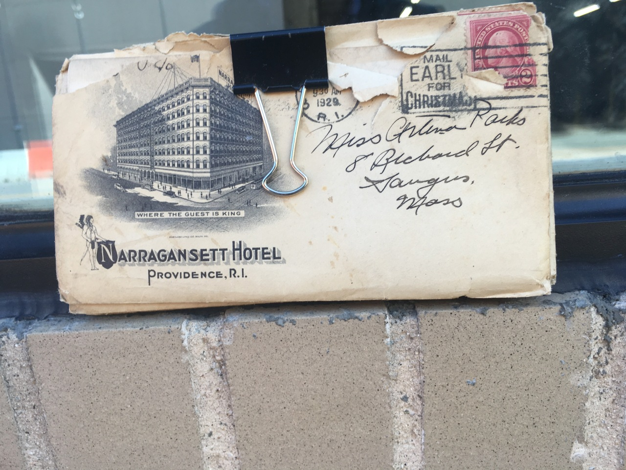 narragansett envelope